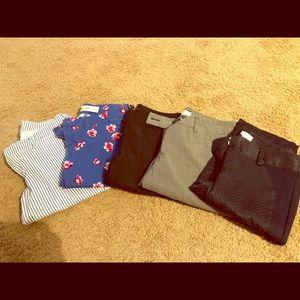 5 pants bundle - All size 0.